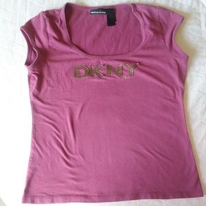 DKNY ❇ pink shirt